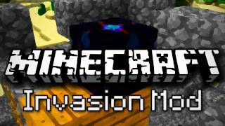 Minecraft Mods_ Tower Defense! (Invasion Mod Demonstration)