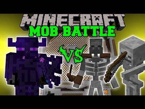 FARLANDER VS MUTANT SKELETON, SUN SKELETONS & MORE - Minecraft Mod Battle - Mob Battles - Mods