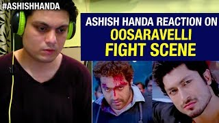 Oosaravelli Telugu Movie Interval Fight Scene | Jr NTR | Vidyut Jamwal | Reaction By Ashish Handa