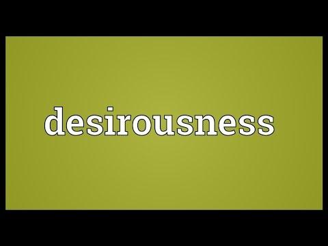 Header of desirousness