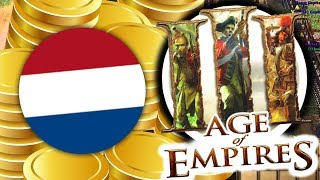 DUTCH INFINITE GOLD STRATEGY - AGE OF EMPIRES 3