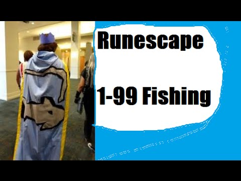 Runescape 1-99 Fishing Guide 2014 – AFK