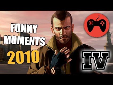 GTA IV - сетевая игра. Смешные моменты