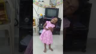 Toddler songs, singing in her own language 🤣😂😍