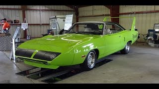 1970 Plymouth Road Runner Superbird 426 Hemi 4 Speed in Green on My Car Story with Lou Costabile