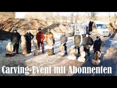 Carving - Event mit Abonnenten | Baumpflege Mertens