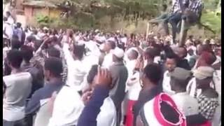 Before Ireecha Massacre , Ethiopia