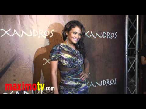 Christina Milian HOT MOMMA! at Xandros Grand Opening October 7, 2010