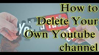 How o Delete YouTube Account Easy Way_2018 | සිංහල Sri Lanka | Technology Review