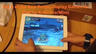 Top 5 of the Best Retina Display Games for iPad 4