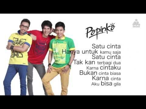 Papinka - Hitungan Cinta ( Lyrics ) video