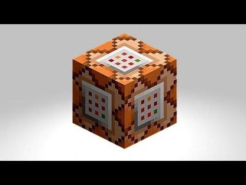 Как сделать себе командный блок в minecraft