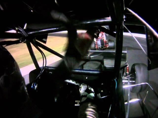 South Sound Speedway Sprint Car In Car Video A-Main 8-23-2014