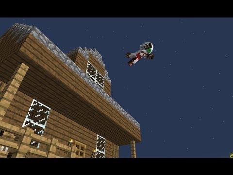Очень Скрытный Механический Дом в Minecraft 1.6.2