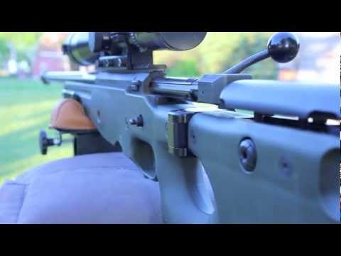 Shooting an Accuracy International in 338 Lapua Mag.