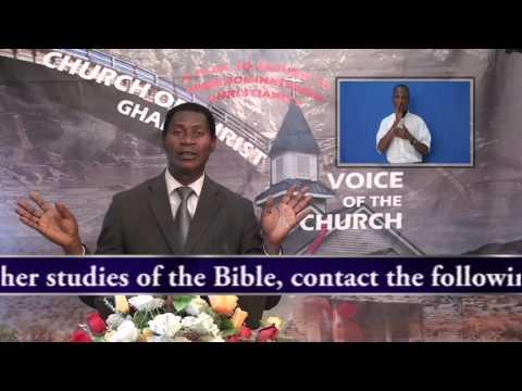 Critical Nature Part 1, Minister Abraham Monney, Church of Christ,Ghana       09 08 2015