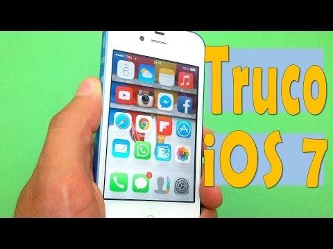 Truco iOS 7 - Ocultar iconos y carpetas sin Jailbreak   iPhone iPod iPad