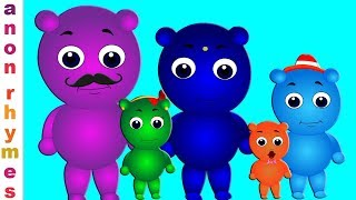 Nursery Rhymes And Kids Songs | Gummy Bear Finger Family | Songs For Babies | Kids Cartoon