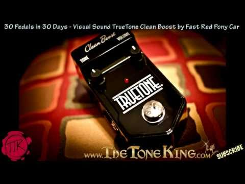 Visual Sound True Tone Clean Boost -30 Pedals in 30 Days- Day #23 Winter NAMM 2011 '11 TrueTone FRPC