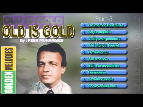 Golden Melodies of Peer Mohammed Vol  3    Malayalam Mappila Songs   Audio Jukebox