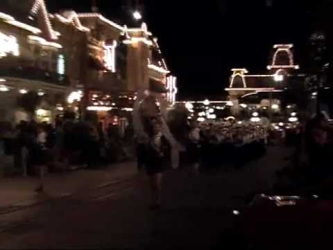 Brookfield Central High School Marching Band from Brookfield, Wisconsin at Disney World (2012)