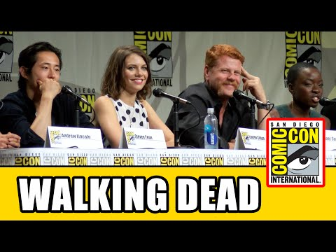 The Walking Dead SDCC Official Full Panel 2014