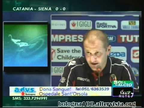 Bologna FC 1909 11/09/2011 Fiorentina – Bologna 2-0 Bisoli in sala stampa, Diamanti