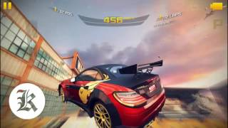 Asphalt 8 | Mercedes-Benz SLK 55 AMG Vs. Mercedes-Benz Silver Lightning 32 Players 12 Laps