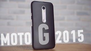 Обзор Motorola Moto G 2015 - UADROID