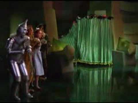 The Wizard of Oz: Pay No Attention
