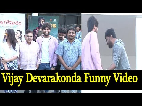 Vijay Devarakonda Funny Video | Taxiwala Success Celebrations | Priyanka Jawalkar | Film Jalsa