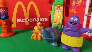 Mcdonalds Happy Meal™ 1996 Island Holiday Toy Set #Unboxing