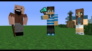 Player School Episode 1: Building (Minecraft Animation)