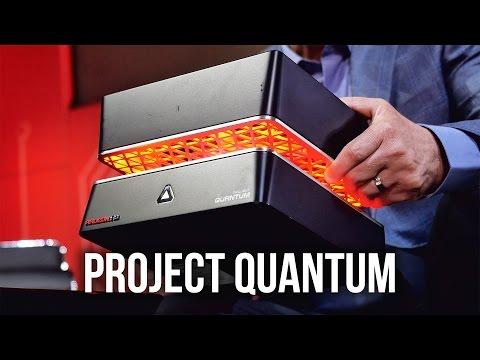 AMD Project Quantum - Dual R9 Fiji HBM GPUs