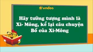 Hãy tưởng tượng mình là Xi- Mông, kể lại câu chuyện Bố của Xi-Mông- VnDoc.com