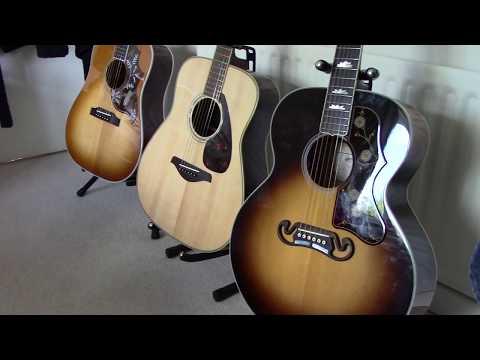 Guitars of 2017 AMI SG Sigma's & Yamaha FG830
