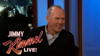 Michael Keaton Risked His Life for Jimmy Kimmel