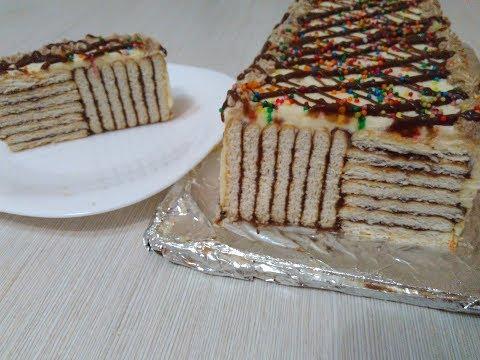 Торт без выпечки за 15 минут Обалденный Шоколадный Торт Cake in 15 minutes