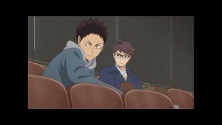 Iwaizumi and Oikawa Moments   Haikyuu season three