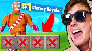 WINNING FORTNITE WITH NOTHING Challenge!