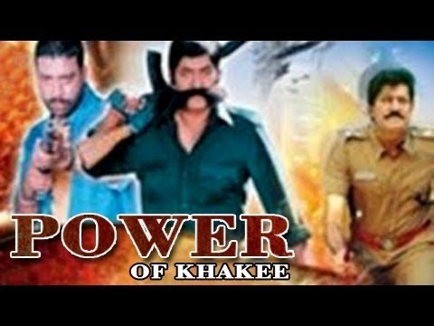 Power Of Khakee│Bollywood Superhit Action Movie