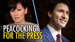 Trudeau defends press freedom abroad, attacks media at home | Sheila Gunn Reid