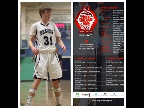 Jeff Spellman 2014 Beaver Country Day School Hoop Dreams Magazine Prep Classic Jan 11-12 Tufts Uni - 01/09/2014