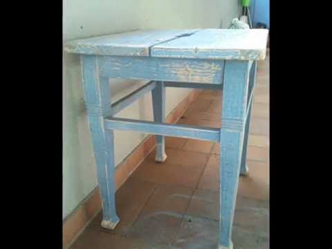 shabby chic m bel aufarbeiten youtube. Black Bedroom Furniture Sets. Home Design Ideas