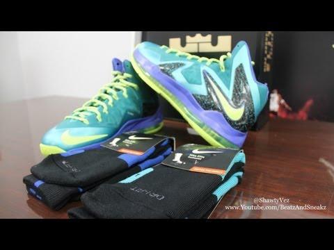 Nike LeBron X Elite Sport Turquoise Review