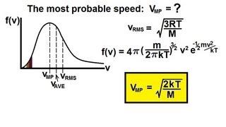 Physics - Thermodynamics: (7 of 10) The Maxwell Botzmann Distribution