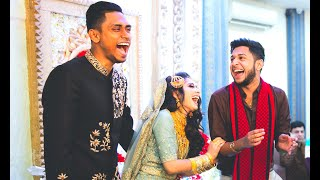 Sajal & Sadia's Reception  | TAWHID AFRIDI | Wedding Chronicle