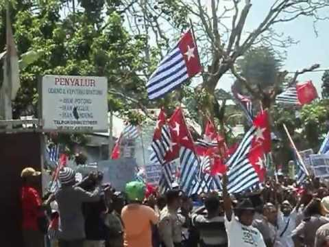 The West Papua Nasional Authority Wpna, 21 Kali Penembakan Dalam Aksi Demo 2 Oktober 2012 video