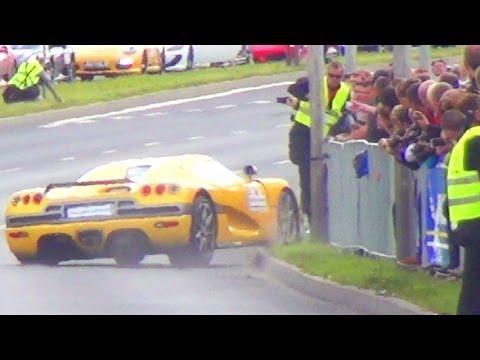 Gran Turismo Polonia 2013 Wypadek KOENIGSEGG Crash Accident GT Polonia Unfall