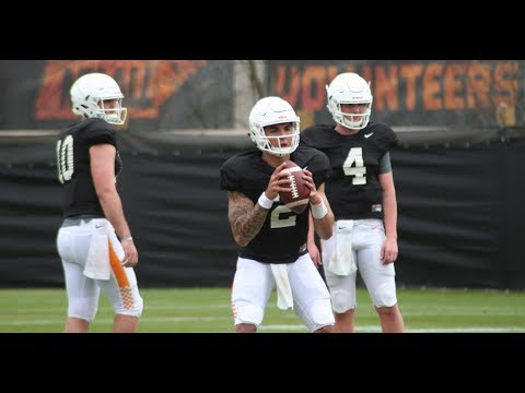 Tennessee Football Spring Practice #10
